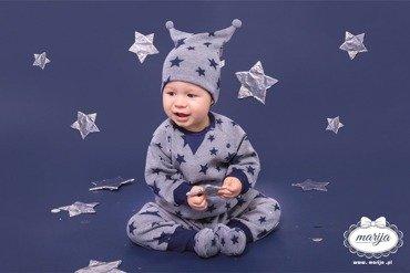 3d81f401 02B15F Lilly White Falbanka Czapka niemowlęca Marija - biały | dla ...