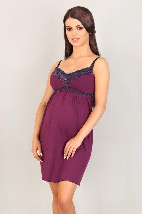 d88c889c 3003 Koszula Nocna ciążowa i do karmienia Lupoline