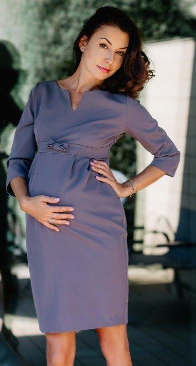 b9592bc46f Fergie II sukienka ciążowa 9fashion szary Kliknij